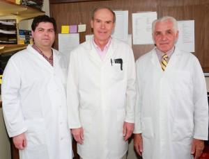 Bryan Psuik, Mac Giblette and Dr. Burt